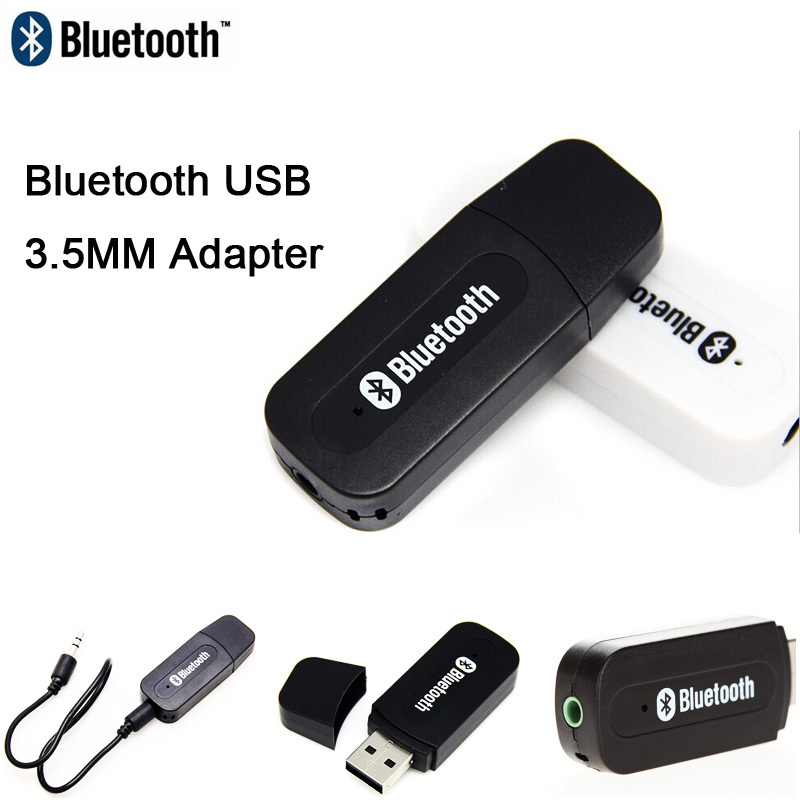 Usb Bluetooth Dongle Computer Adapter for Car Stereo Audio Bluetooth 3.5mm Device Laptop Smartphone Speaker Amplifier office(China (Mainland))