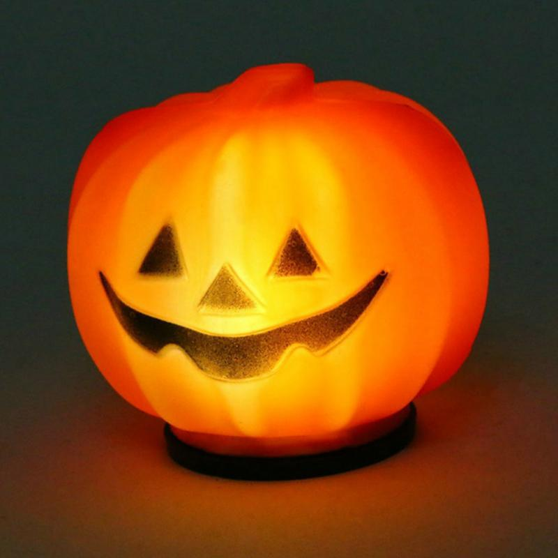 Carnival Party Lantern LED Pumpkin Night Light Halloween Decoration Props Produce Scary Atmosphere(China (Mainland))