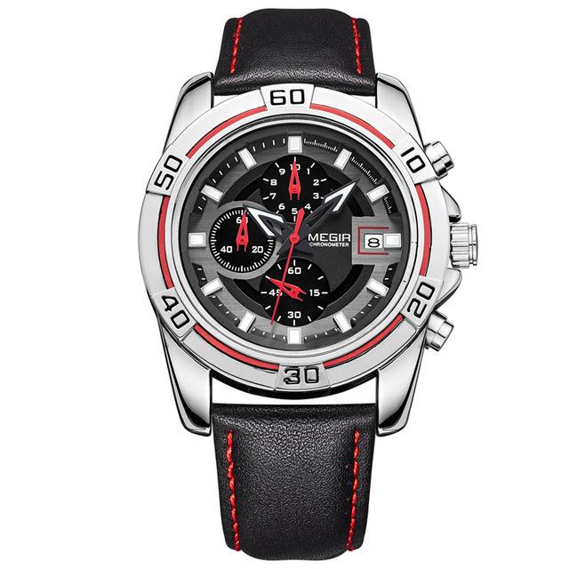 MEGIR мужские Часы Военные Brands Limited Edition Бегущий Человек Кварц Relogio masculino наручные часы Хронограф 2023