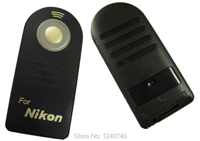 Wireless Remote Control for Nikon D40,D50,D60,D70,D70s,D80,D90,D600,D3000,D3200,D5000,D5100,D5200,D7000,D7100 Digital SLR Camera(China (Mainland))