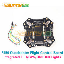 F450 Quadcopter Drone Upper Board Integrated with APM Flight Control Highlight LED GPS Light Unlock Light