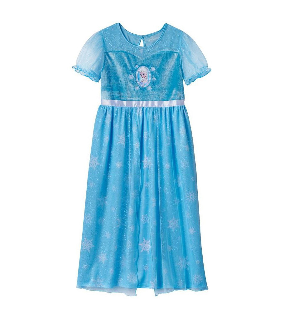 Perfect Quality Princess girls childrens kids Blue dress summer short sleeve girl dresses fancy costume cosplay 8 pcs/lot(China (Mainland))