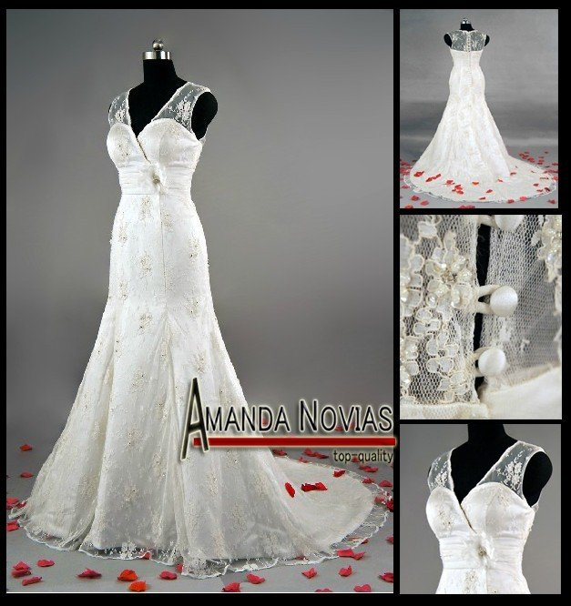 Popular spanish style wedding dresses buy cheap spanish for Spanish wedding dresses lace
