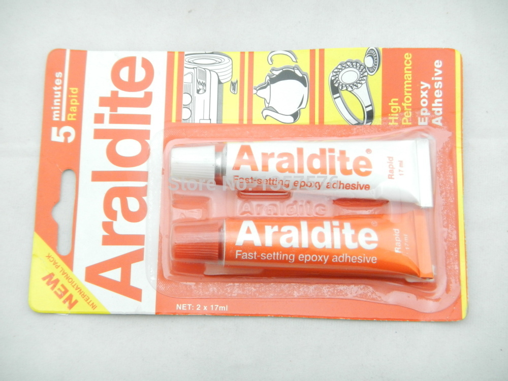 FREE SHIPPING Araldite Fast-setting epoxy adhesive, jewelry making tools,gemstone glue(China (Mainland))