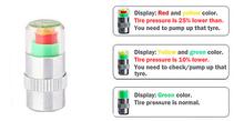 New 4 Pcs Car Auto Tire Air soupape de pression souches Caps capteur indicateur d'alerte Bike
