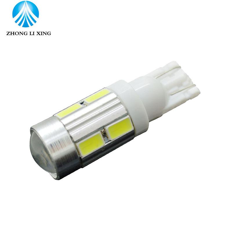 10x T10 194 W5W 6500K White 550LM LED Car Bulb 12V Fog Light Car Styling Auto Headlamp No Error No Canbu Turn Signal Headlight(China (Mainland))