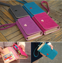 Multifunction Lady Girl Wallets Pink/Rose Leather Handbag,Coin Case Purse For BlackBerry Curve 9380 9320 9220 9370 9780 Phone(China (Mainland))