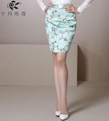 Женская юбка Oct. Legend Saias Femininas SSQ408023 женская юбка saias longa femininas 2015 wqc093