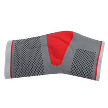 Sport Safety Ankle Protector Gray Breathable Ankle Support Knit Red Sport Silicone Ankle Brace Size XL,1PC(China (Mainland))