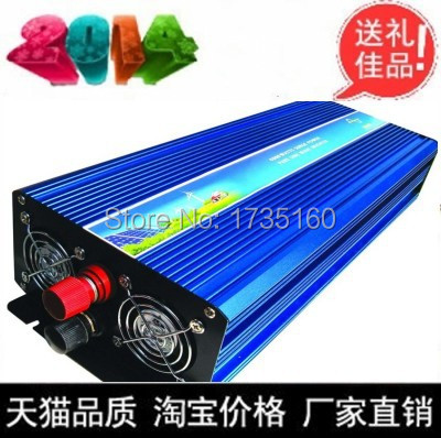 2500w inverter pure sine wave max 2500w power DC 12V 24V 12V 230V to AC100V-240V 50Hz 60Hz for solar wind home use(China (Mainland))