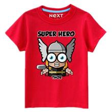 Thor T Shirt Summer Style Super Hero Marvel T-shirt Causal Cotton Short Sleeve Movie T Shirts Funny Cartoon Design Tee Tops