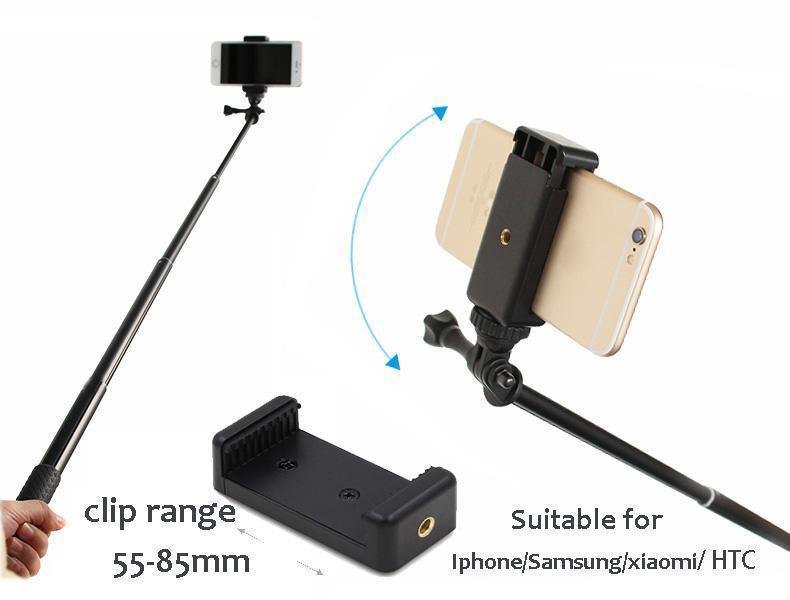 waterproof selfie monopod for xiaomi yi extendable handheld monopod selfie st. Black Bedroom Furniture Sets. Home Design Ideas