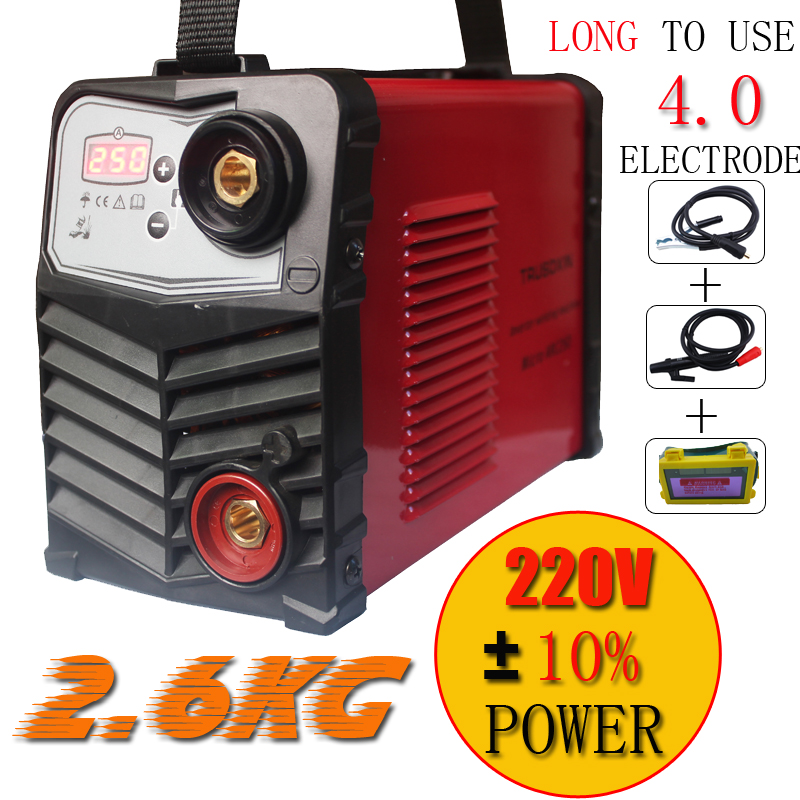 NEW ZX7250 220v voltage input protable INVERTER DC IGBT DIY welding machinery/equipment/stick welder with accessories eyes mask(China (Mainland))