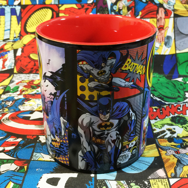 DC Hero Batman Bat Chivalrous Cartoon Serial Personality Marc Cup Collection Gift Glass Coffee Cup Milk Cup(China (Mainland))