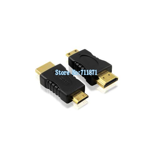 HDMI to Mini HDMI Adapter Type A to C Male HDMI Connector HDMI Mini C Male to A Male joint Computer Tablet connect HDTV(China (Mainland))