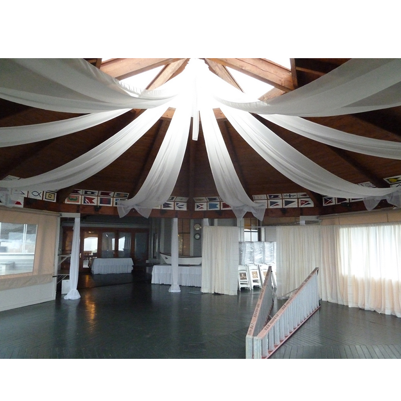 Online buy wholesale wedding canopy from china wedding for Ceiling decoration ideas