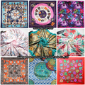 90cm 90cm Free Shipping 2016 Big Size Silk Square Scarf Women Fashion Brand High Quality Imitated