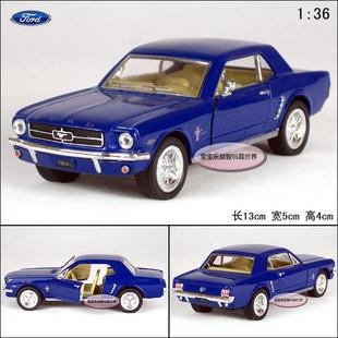 New Ford 1964 Mustang 1:36 Alloy Diecast Model Car Toy collection Blue B1856(China (Mainland))