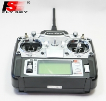 flysky fs-T6 2.4Ghz digital 6ch LCD screen transmitter fs-R6B receiver combo radio control system for drone quadcopter