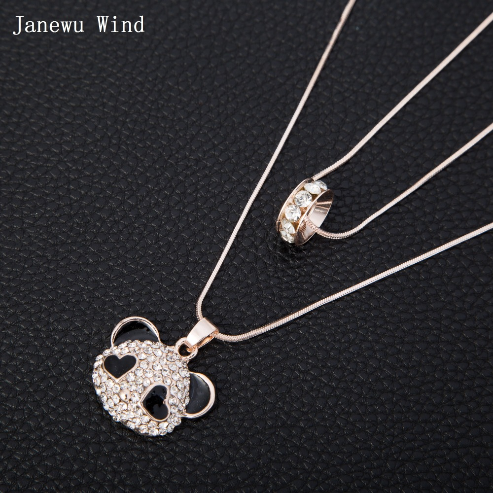 Online buy wholesale panda bear necklace from china panda for Wind chain online