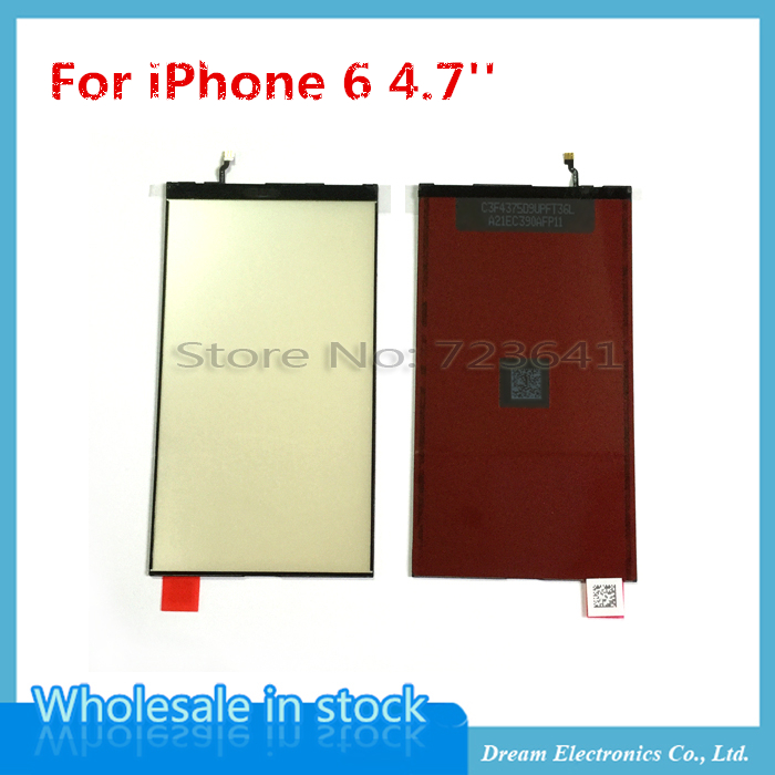 5pcs/lot Brand New Complete LCD Display Backlight Film For iPhone 6 6G 4.7'' Back light Film Replacement Part WholeSale(China (Mainland))