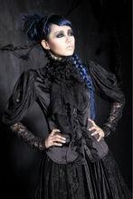 New Womens Gothic Kera Retro Prom Party fashion Shirt Blouse Vintage nana Y411