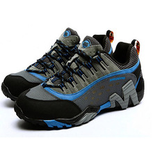 New 2014 mountain shoes outdoor climbing hiking shoes men's designer sport breathable waterproof walking shoes boots men(China (Mainland))