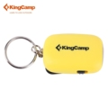 KingCamp flashlight camping outdoor 2LED Mini Dynamo Keychain Torch yellow for Hiking Gift