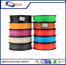 3D Printer Filament, ABS and PLA, 0.05mm Diameter Precision