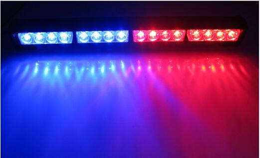 new 16w hight power strobe light fireman flashing police. Black Bedroom Furniture Sets. Home Design Ideas
