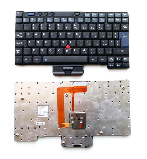 UI Black 100% New English Laptop keyboard For Lenovo For IBM Thinkpad X40 X41 X41T X40T(China (Mainland))