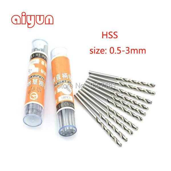 120pcs/lot 0.3mm~3mm Twist Drill Bit for Iron/Steel Parts and PCB hole drilling<br><br>Aliexpress