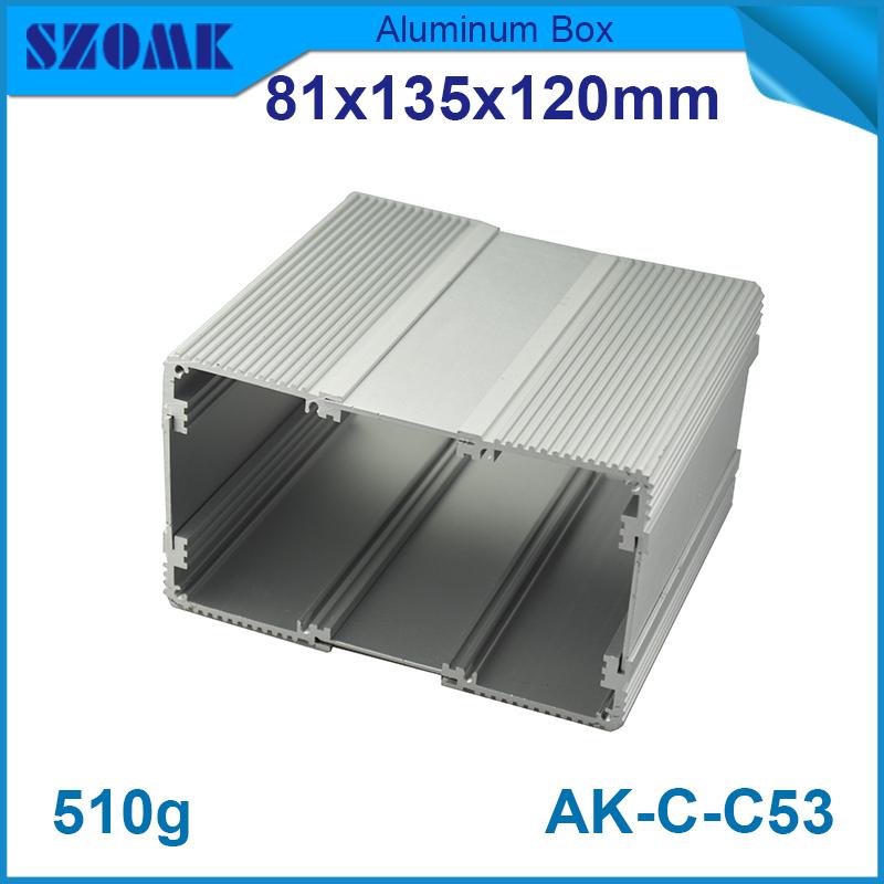 10pcs/lot 81(H)x135(W)x120(L) mm aluminium extrusion housing enclosure in good quality for diy wifi tracker<br><br>Aliexpress