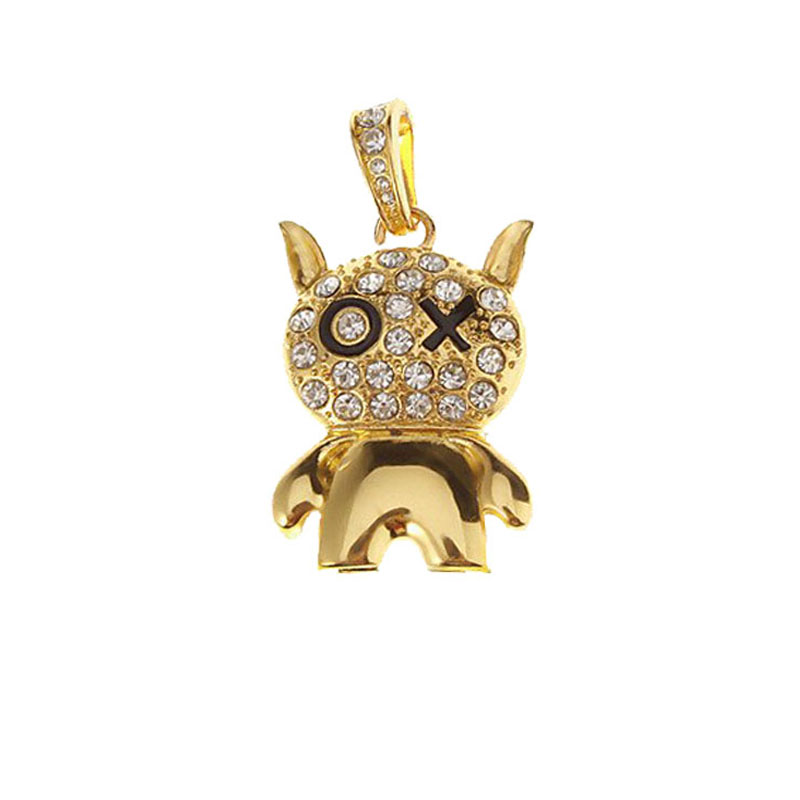 New Bling Diamond Cartoon Figure USB Flash Drive 64GB 8GB 16GB 32GB 4GB 2GB 128MB USB 2.0 Memory Stick Pen Drive Free Shipping(China (Mainland))