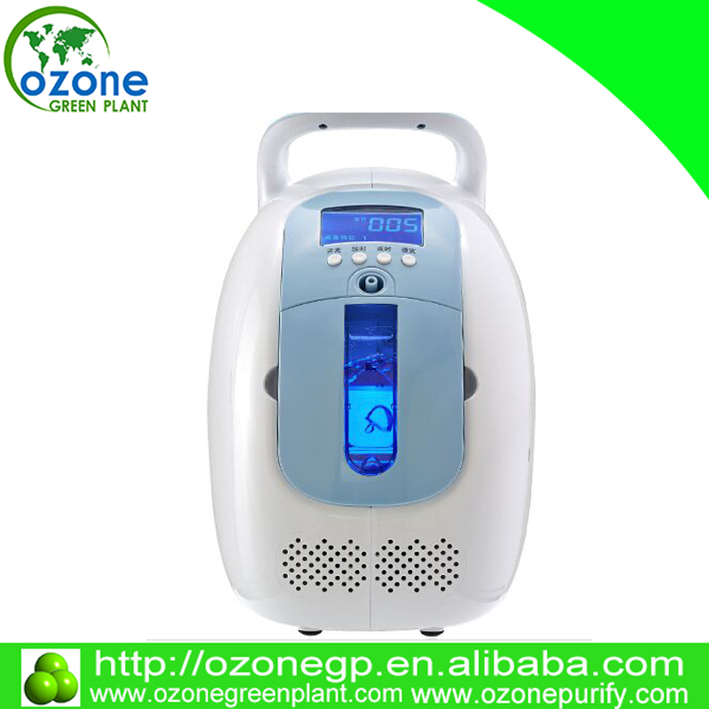 New portable oxygen machine/oxygen concentrator 5L/min for home/ hospital use with free shipping(China (Mainland))
