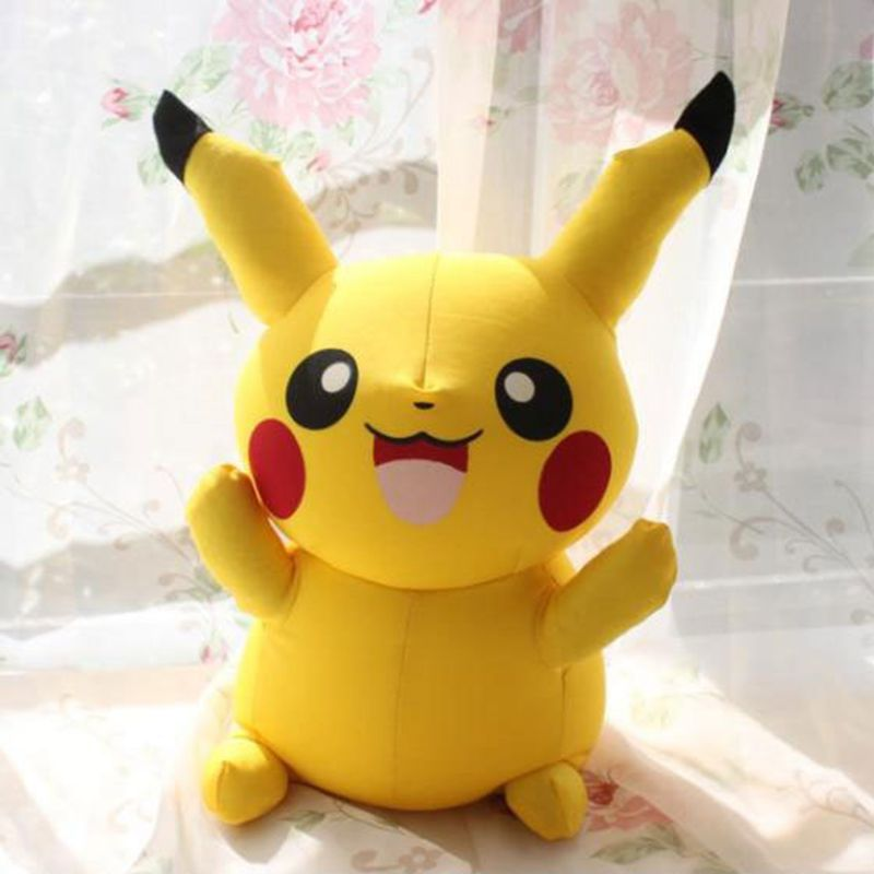Hot Sale Cute 20cm Pikachu Plush Toys Pokemon Plush Toy for Children kids Gift Free Shipping(China (Mainland))