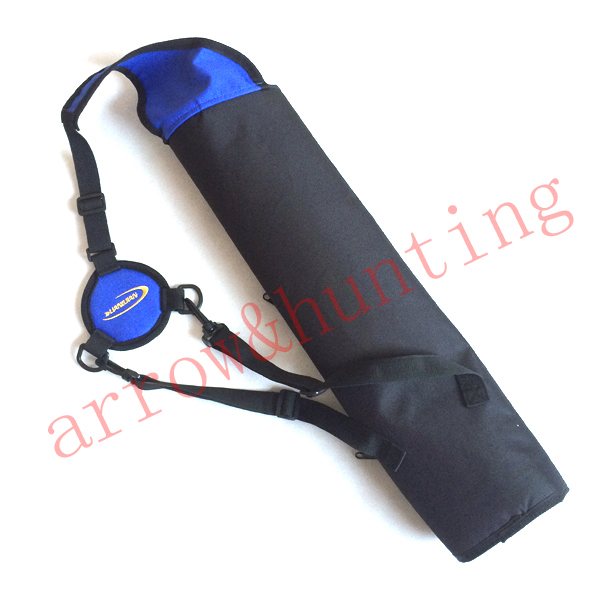 archery quiver bag hunting bow arrow quiver blue arrow case to set compound bow or recurve