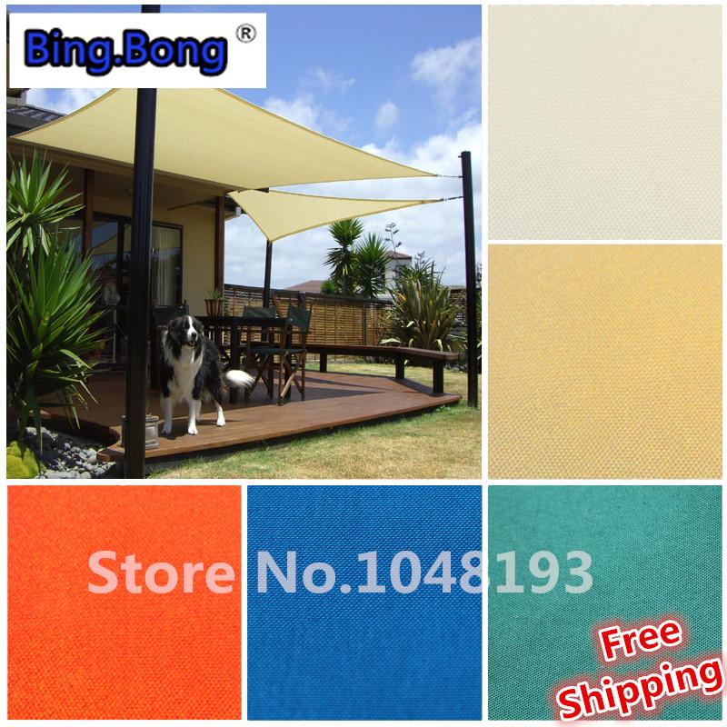 Custom sun shade sail uv pu waterproof square gazebo angle for Shadesails com