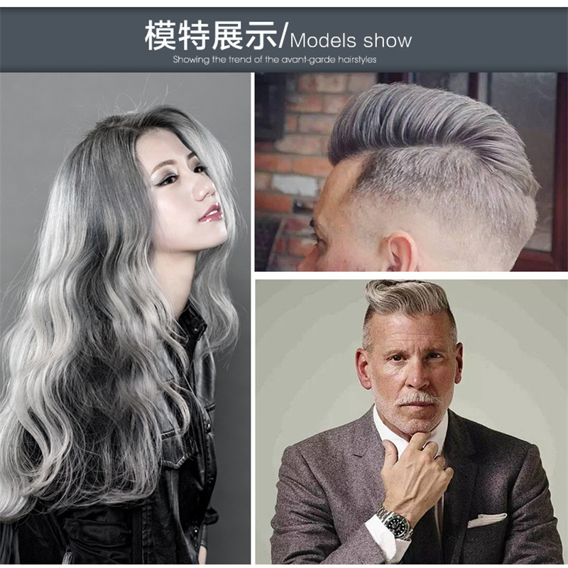 hair chalk powder mud Japan color wax one-time hair dyes Seven color optional net 120g H0007