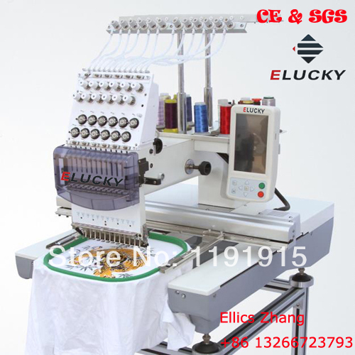 New type sewing and embroidery machine for cap t