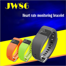 2015 New JW86 Bluetooth 4.0 Wireless Heart Rate Smart Bracelet Sport Fitness Wristband Similar to Fitbit Charge Hr Track Pulse