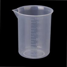 Kitchen Accessories Measuring Cups 150ml Transparent Plastic Laboratory Measuring cup Measuring tool BS