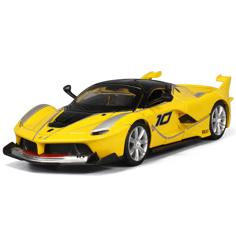 Alloy car model 1:32 sports for Ferrari children pull-back vehicle car model toy with sound and light(China (Mainland))