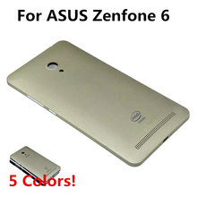 Free Shipping! For ASUS Zenfone 6 Housing Battery Back Cover, Original Battery Cover Replacement with LOGO