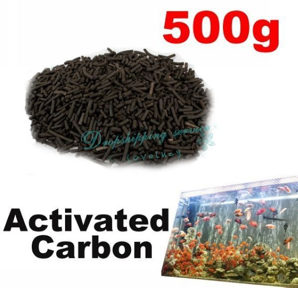 Efficient Practical Pond Reef Aquarium Filter 500g Activated Carbon Filtration Drop shipping/Free Shipping(China (Mainland))