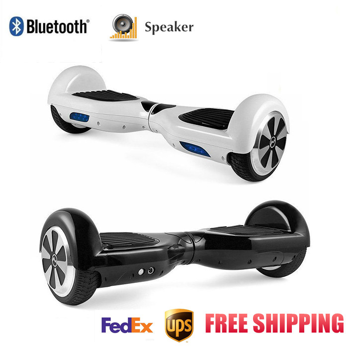 NEW *2016 Smart-Balance 2 Wheel Electric Standing Scooter Hoverboard Skateboard Hover Skywalker Board Scooters With Bluetooth(China (Mainland))
