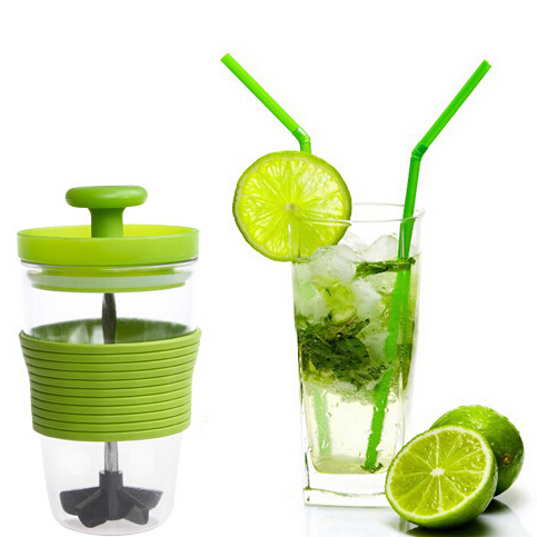 Manual Juicer blender citrus lemon Squeezers & Reamers fruits string cup DIY smoothie mixing maker exprimidor free shippingF-190(China (Mainland))