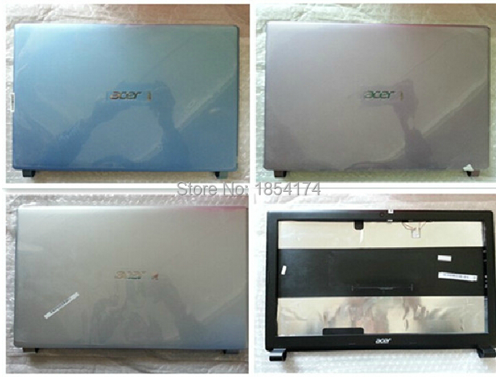 Full Set Body Plastic Case A+B+C+D+Hinge for Acer Laptop Model E1-571G E1-531G Cover Sell Housing Free Shipping(China (Mainland))