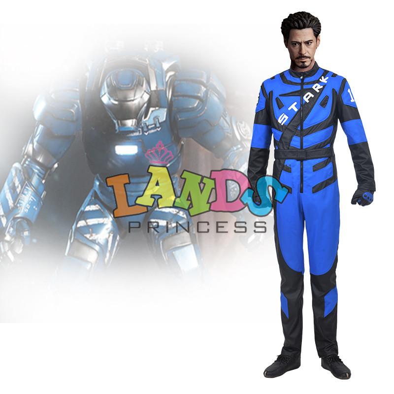 Custom Made Iron Man Cosplay Costume Adult Movie Cosplay Costume(China (Mainland))