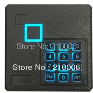 Free Shipping!Proximity IC Card Reader with keypad for access control 13.56Khz<br><br>Aliexpress